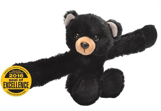 Huggers Stuffed Animal Black Bear