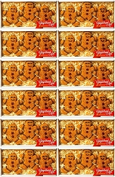 Gingerbread Men Birdseed Ornament Gift Box 12/Pack