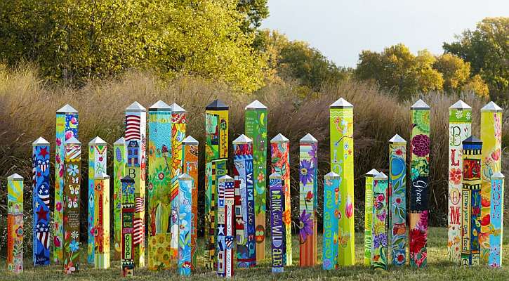 Art Pole Garden Collection