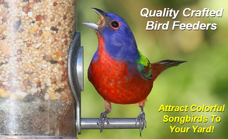 Quality Crafted Bird Feeders