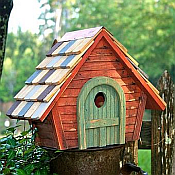 Heartwood Birdhouse Collection