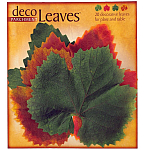 Deco Parchment Leaves