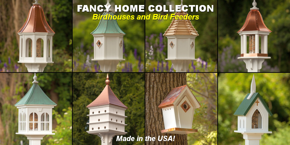 Fancy Home Products Birdhouses and Bird Feeders