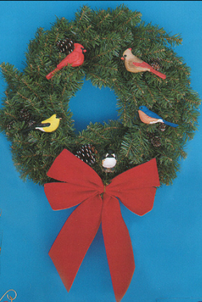 Fisher Wildlife Bird Ornaments make great decorations for Christmas Trees, Garlands and Wreaths!