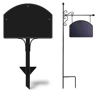 Yard DeSign Metal Yard Stake and Ornamental Post