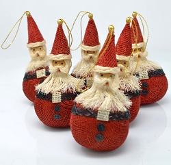 Santa Claus Round Ornament 4
