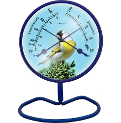 Decor Convertible Small 4 Inch Dial Comfortmeter Yellow Finch