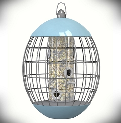 Nuttery Elipse Caged Seed Feeder