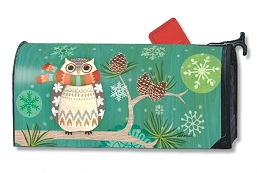 Winter Owl MailWrap