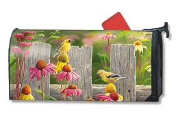 Goldfinches & Coneflowers MailWrap