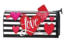 Heart with Stripe MailWrap