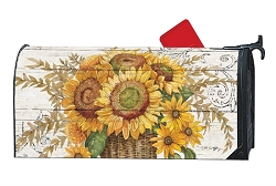 Farmhouse Sunflower MailWrap