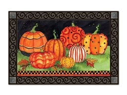 Painted Pumpkins MatMate Doormat