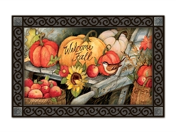 Welcome Fall Pumpkins MatMate Doormat