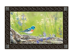 Meadow Bluebird MatMate Doormat