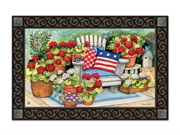Patriotic Pillows MatMate Doormat