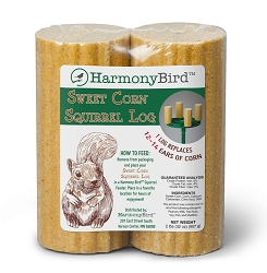 Harmony Sweet Corn Squirrel Logs 12/Pack