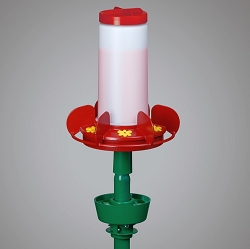 Harmony Hummingbird Feeder Post Mount 38 oz.