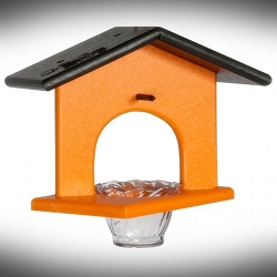 Amish Recycled Poly Single Oriole Feeder