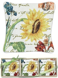 Sunflower Gift Boxed Lavender Sachet Set of 3