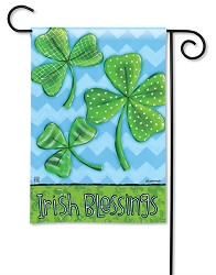 Irish Blessings Garden Flag