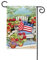Patriotic Pillows Garden Flag
