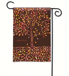Thankful Garden Flag