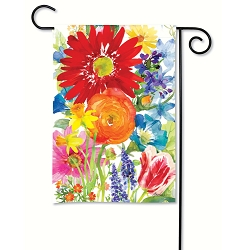 Splash of Color Garden Flag