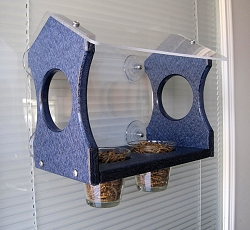 Recycled Poly Bluebird Window Feeder