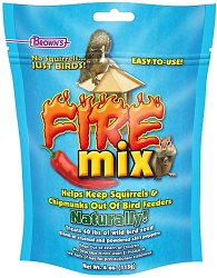 Brown's Fire Mix Bird Seed Treatment 4 oz.
