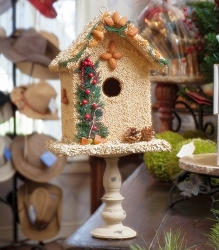 Juniper Bed and Breakfast Edible Birdhouse