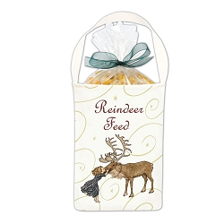 Reindeer Corn Feed Gift Bag
