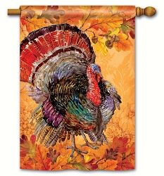 Proud Turkey House Flag