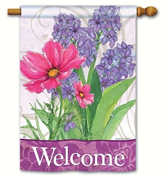 Garden Bouquet House Flag
