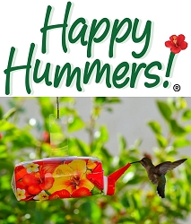 EZ Nectar Ready-To-Use Hummingbird Fast Feeder 4-Pack