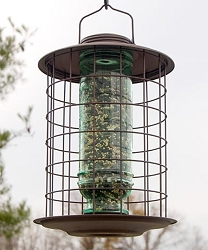 Select Caged Songbird Vintage Feeder