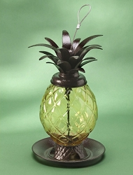 Welcome Pineapple Bird Feeder