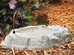 Rocky Mountain Spring Bird Bath with Dripper