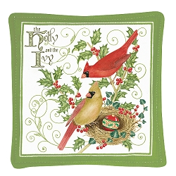 Holly and Ivy Spiced Mug Mat Set of 4
