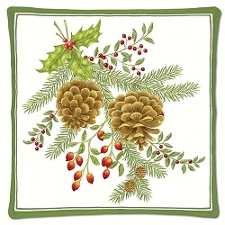 Holiday Pinecones Scented Hot Pad