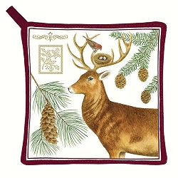 Holiday Deer Potholder