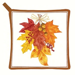 Autumn Leaves Potholder