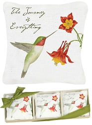 Hummingbird Gift Boxed Lavender Sachet Set of 3