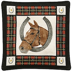 Horse Spiced Mug Mat Set of 4