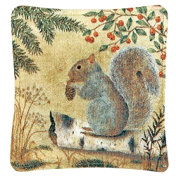 Squirrel Spiced Mug Mat Set of 4