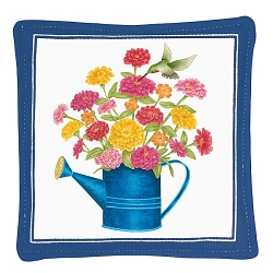 Watering Can Spiced Mug Mat Set of 4
