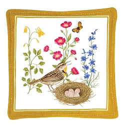 Meadowlark Spiced Mug Mat Set of 4