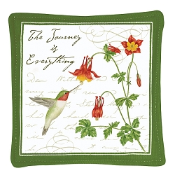 Hummingbird Spiced Mug Mat Set of 4