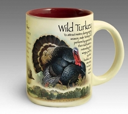 Wild Turkey 16 oz. Stoneware Coffee Mug