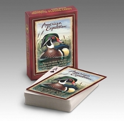 Wood Duck Wildlife Playing Cards 2 Decks